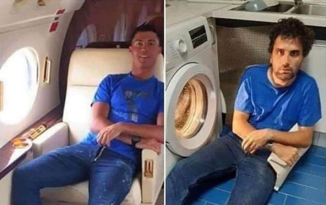 Low Cost Cosplay - Funny pictures, memes - funvizeo.com - cosplay,cristiano ronaldo,funny,funny pictures