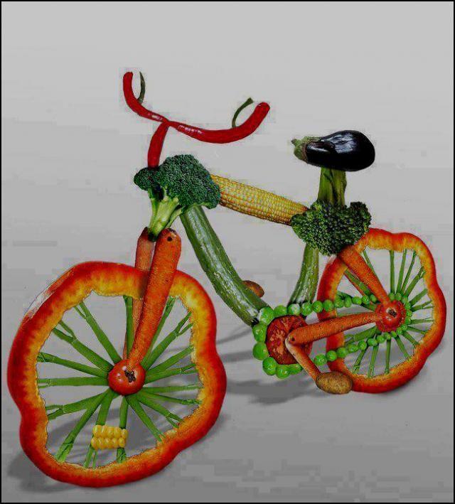 Art of vegetables