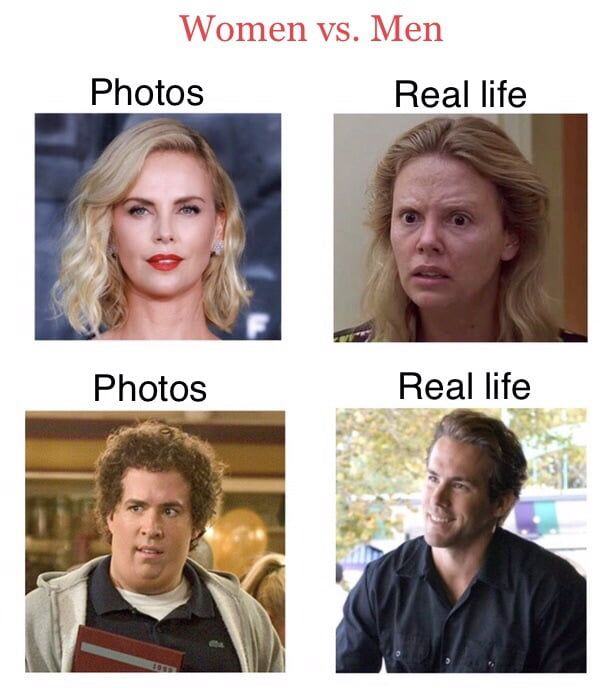 Women vs. Men meme - Funny pictures, memes - funvizeo.com - memes,funny,real life,photos