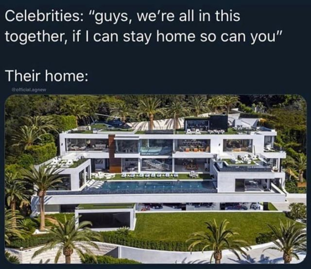 Celebrities if i can stay home so can you - Funny pictures, memes - funvizeo.com - quarantine,memes,funny,celebrities,stay home,coronavirus