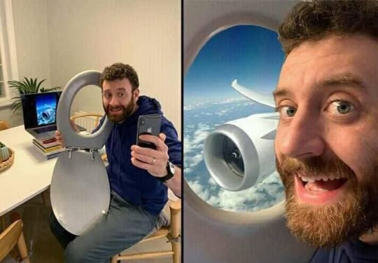 Selfie on the plane - Funny pictures, memes - funvizeo.com - funny pictures,funny,take a selfie