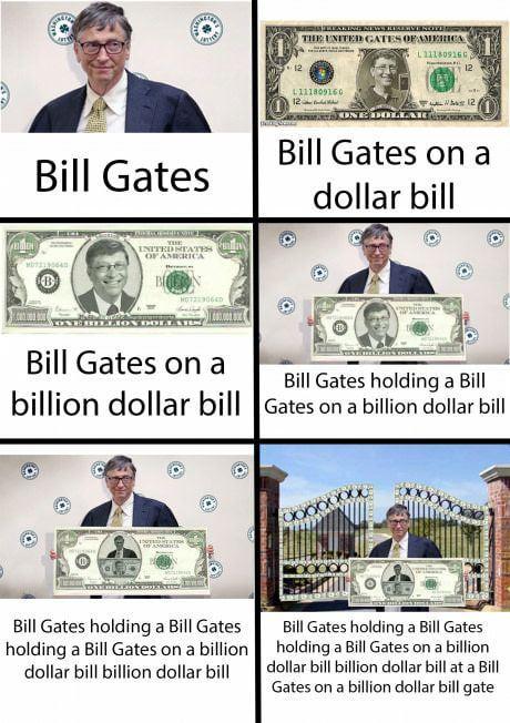 Money Bill Gates meme - Funny pictures, memes - funvizeo.com - memes,bill gates,funny,money