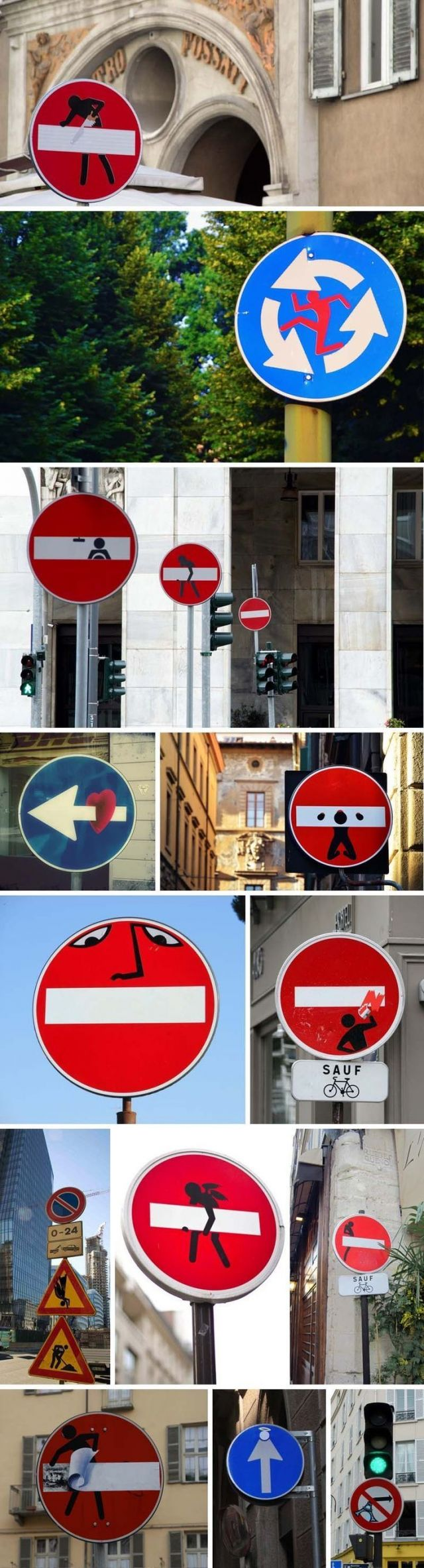 Funny signs on the street