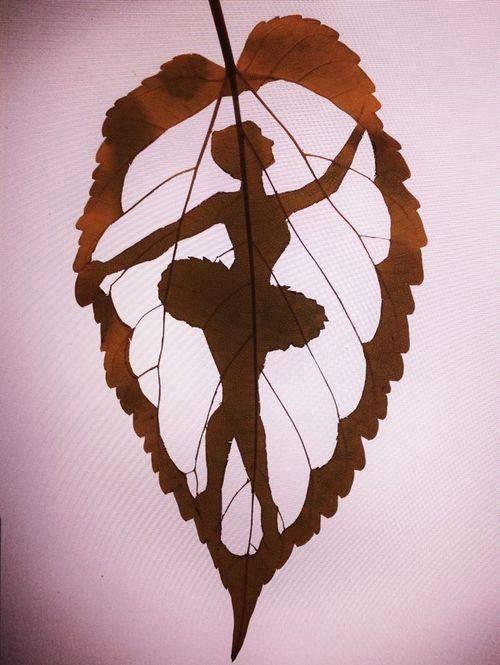 Art on the leaf