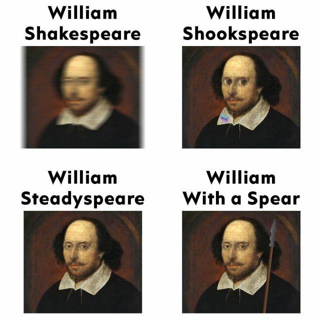 William Shakespeare memes