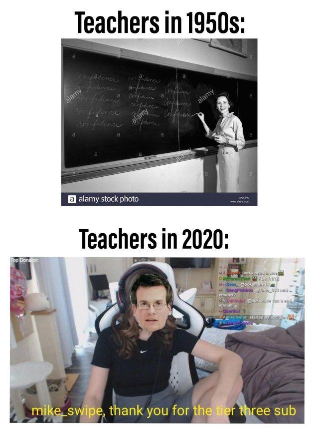 Online school as Coronavirus Spreads - Funny pictures, memes - funvizeo.com - memes,funny,online class,school meme
