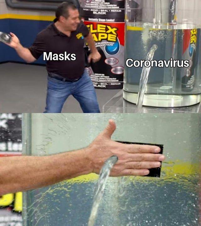 Can a face mask stop coronavirus