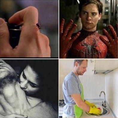 Never let a woman bite
