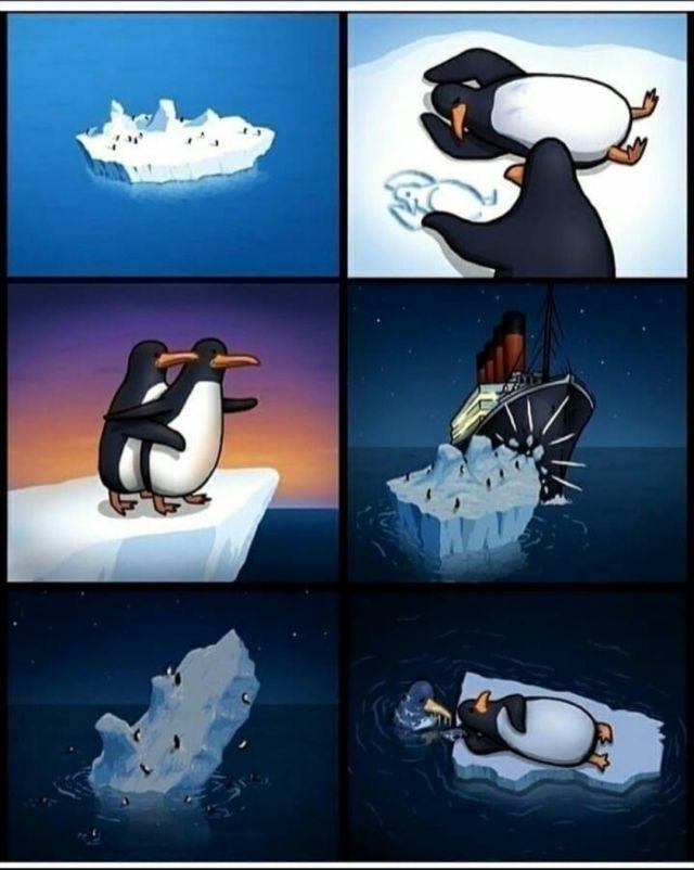 Parallel Universe - Funny pictures, memes - funvizeo.com - memes,universe,titanic,comics