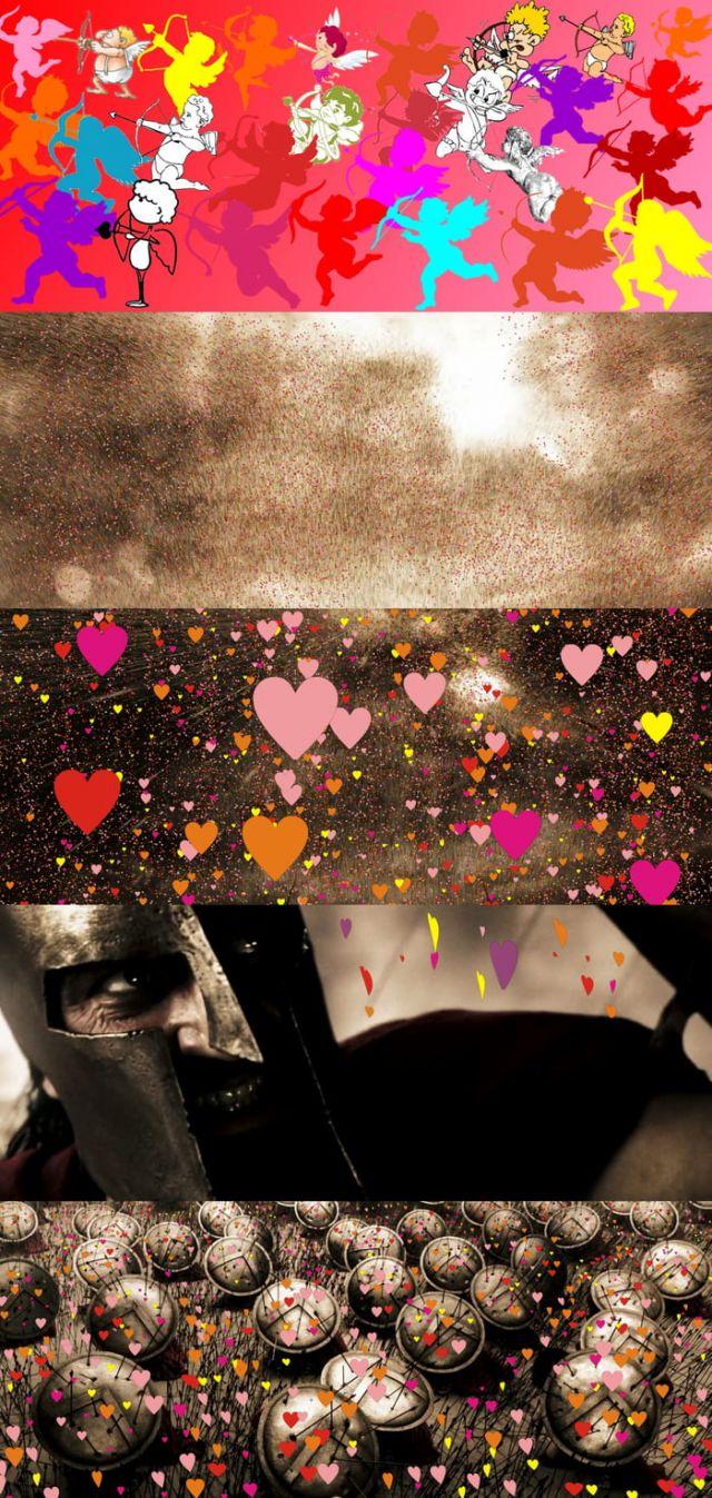 Hide From The Valentine's Attack - Funny Videos - funvizeo.com - valentine day,humor