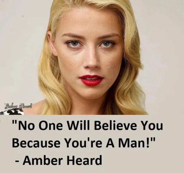 No One Will Believe You Because You're A Man