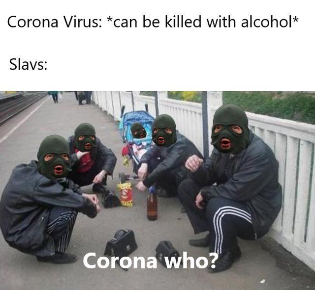 Alcohol Kills Coronavirus meme