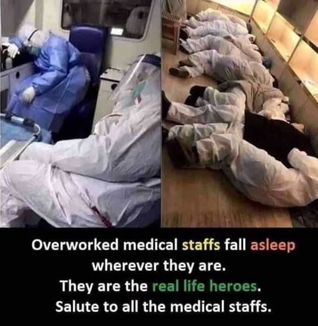 Medical Staff You Are Our Heroes Funny Pictures Memes Funvizeo Com