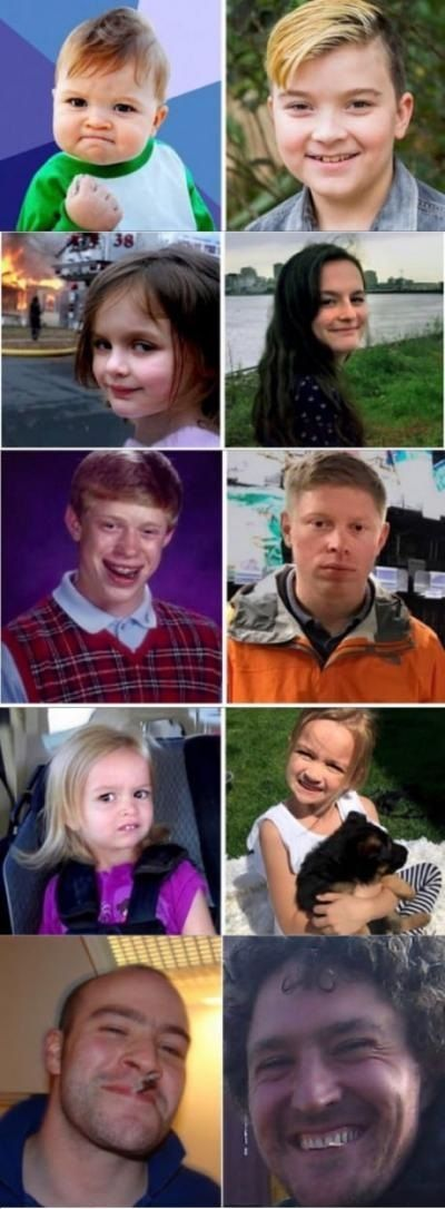 My idols - Funny pictures, memes - funvizeo.com - funny, bad luck brian, success kid, good guy greg, disaster girl, side eyeing chloe