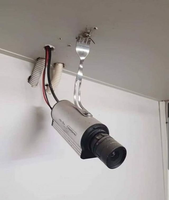 Creativity is nothing but a mind set free - Funny pictures, memes - funvizeo.com - funny pictures,security camera,funny,creation