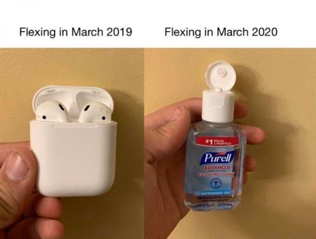 What A Difference A Year Makes - Funny pictures, memes - funvizeo.com - memes,funny,hand sanitizer,coronavirus,covid-19