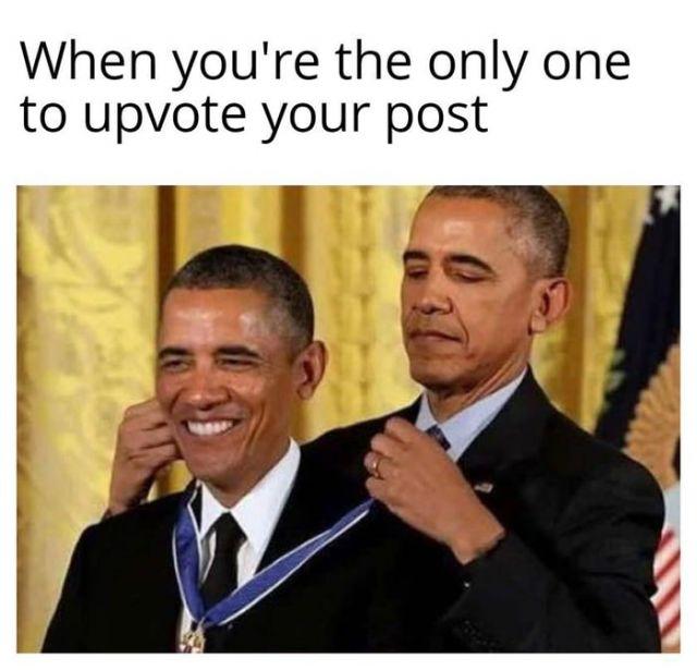 Upvote meme - Funny pictures, memes - funvizeo.com - obama meme,memes,funny