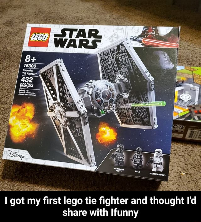 78300 TE Fighter got my first lego tie fighter and thought I'd share with Ifunny I got my first lego tie fighter and thought I'd share with Ifunny meme