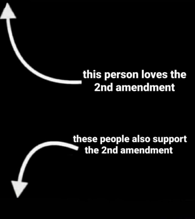 This person loves loves th the person loves the amendment these people also support the amendment meme