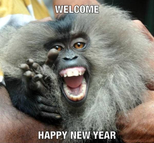 WELCOME HAPPY NEW YEAR meme
