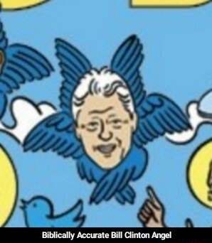 Bubkicully Accurate Bull Chintcas Angel  Biblically Accurate Bill Clinton Angel memes