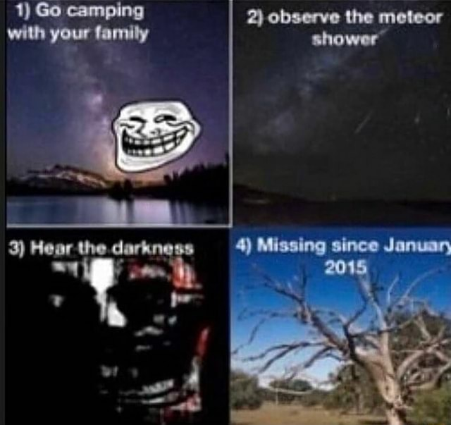 Go camping yeur 2 observe 4 2015 memes