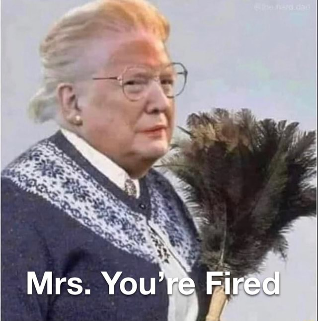 Mrs. You're Fired memes