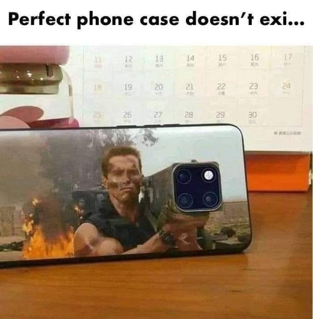 Perfect phone case doesn't exi meme