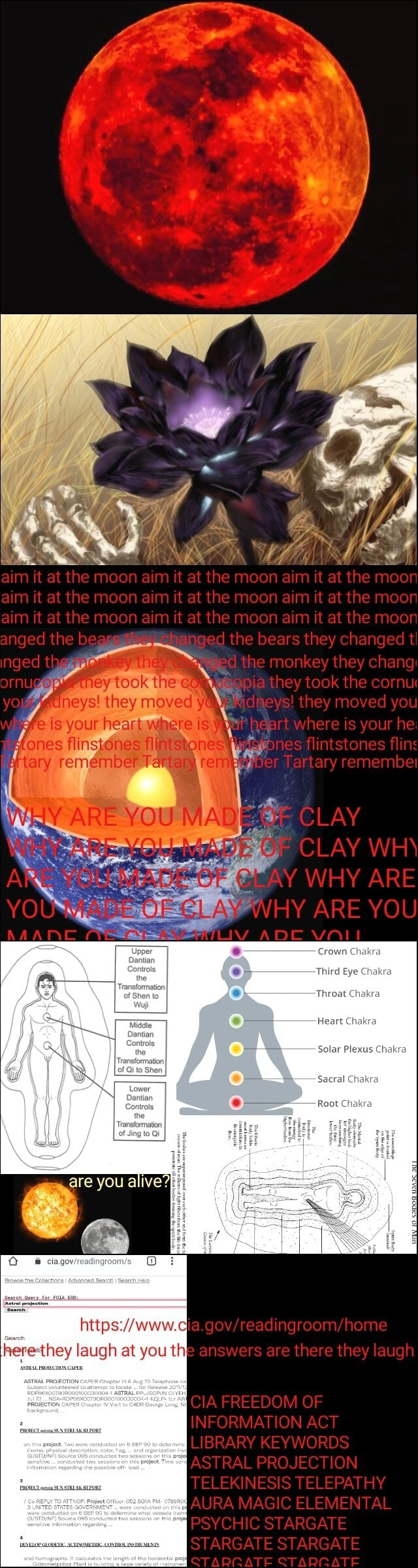 Aim it at the moon aim it at the moon airn it at the moor aim it al the moon aim at the moon it at the moon aim il at the mo it at the moon airn it at the moon anged the be r nged the bears they changed nged t monkey they chang they took the cornu oheysl they moved d they moved you Pes your heart art where is your he ones Mingt6n fliniston fline tary remembel YOU la, CLAY CLAY WHY ARE ARE YOU Throat Chakra Chakra erethey laugh at you th} home IA TREEDOM OF INFORMATION ACT TELEKINESIS TELEPATHY AURA MAGIC ELEMENTAL PSYCHIC STARGATE STARGATE STARGATE ATE ATE memes