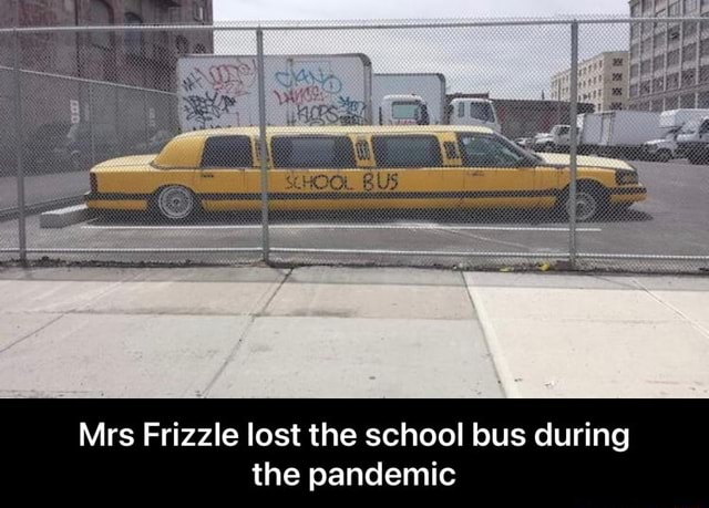 Mrs Frizzle lost the school bus during the pandemic  Mrs Frizzle lost the school bus during the pandemic memes