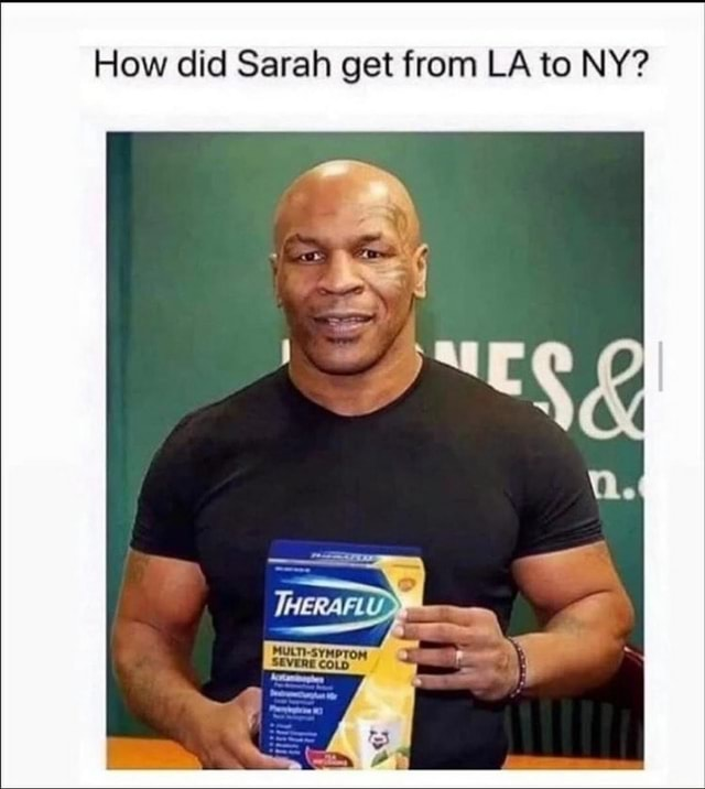 How did Sarah get from LA to NY We memes