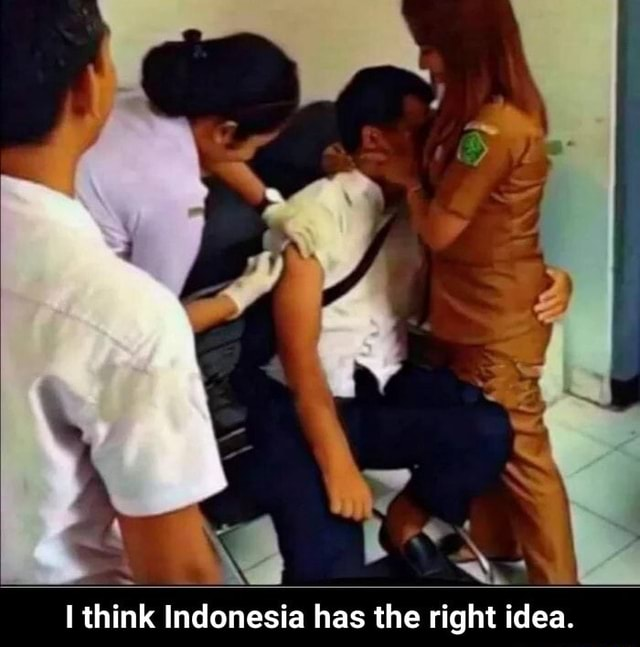 Wines think Indonesia has the right idea. I think Indonesia has the right idea meme