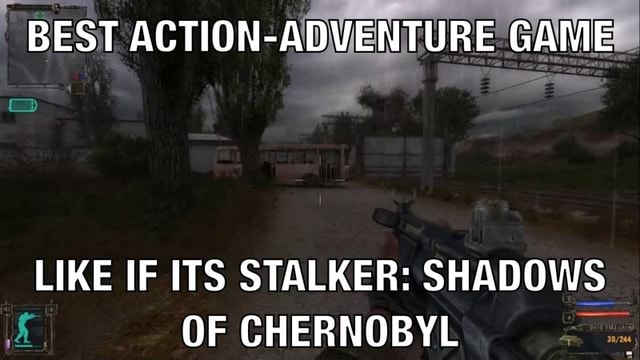 BEST ACTION GAME LIKE IF ITS STALKER SHADOWS OF CHERNOBYL memes