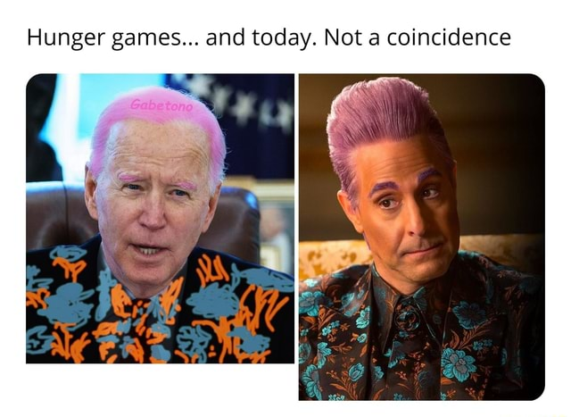 Hunger games and today. Not a coincidence memes