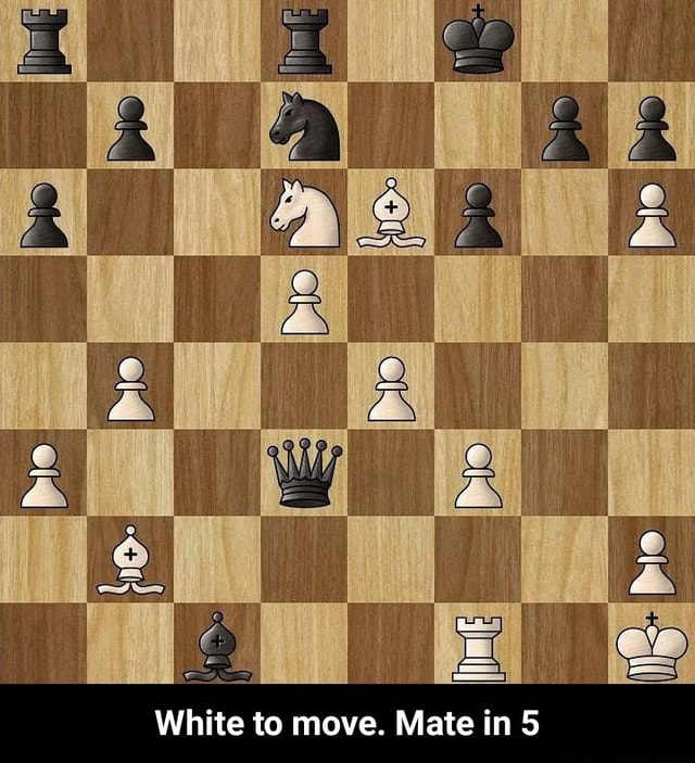 White to move. Mate in  White to move. Mate in 5 memes