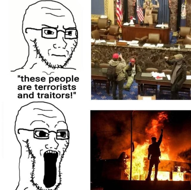 S **pad these people are terrorists and traitors memes