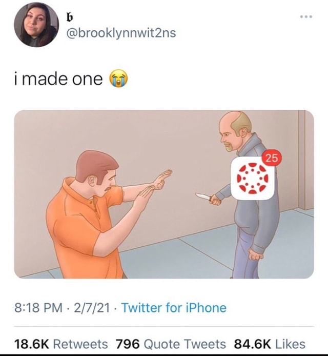 Brooklynnwit2ns made one PM Twitter for iPhone memes
