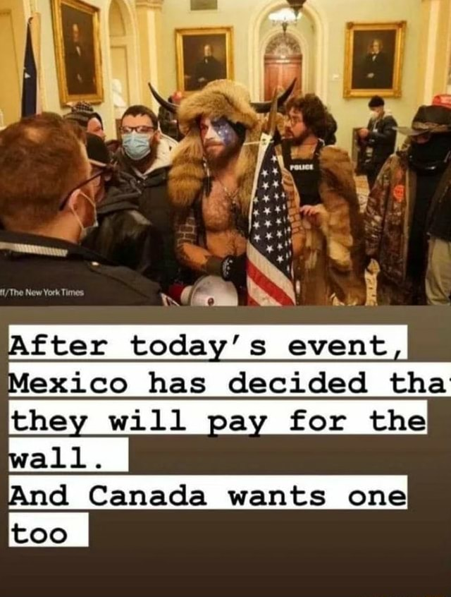 The New York Thmes all. ct today's has decidad tha they will pay for the And Canada wants one memes