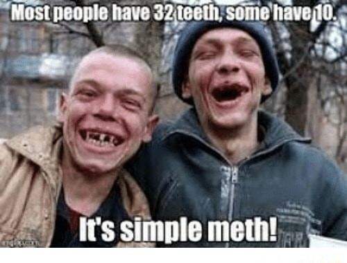 Most people ave 3 feeth some haved it's simple meth memes