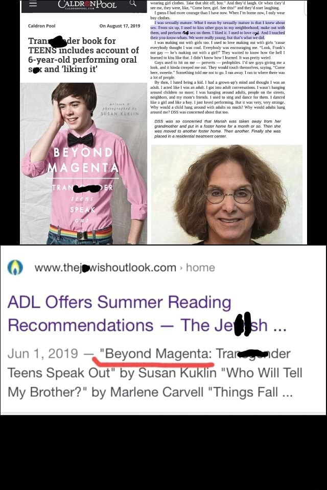 Tranggpder book for TEENS includes account of year old performing oral s and liking it BEYOND MAGENTA home ADL Offers Summer Reading Recommendations  The Je in 1, 2019  Beyond Magenta Teens Speak Out by Susan Kuklin Who Will Tell My Brother  by Marlene Carvell Things Fall meme
