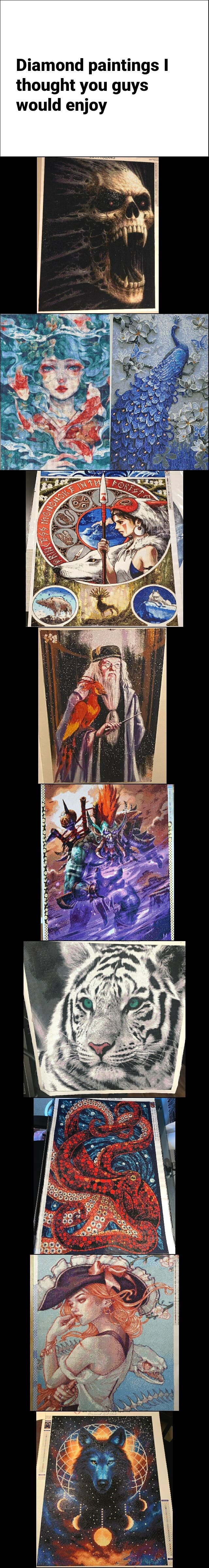 Diamond paintings I thought you guys would enjoy memes