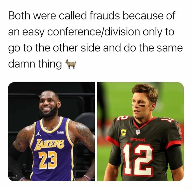 Both were called frauds because of an easy only to go to the other side and do the same damn thing memes