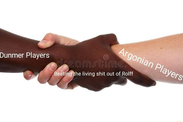 Dunmer Players he living shit out of Rel memes