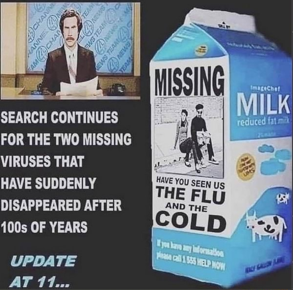 SEARCH CONTINUES FOR THE TWO MISSING VIRUSES THAT HAVE SUDDENLY HAVE You TH, FL Us DISAPPEARED AFTER 400s OF YEARS COL UPDATE AT 11 memes