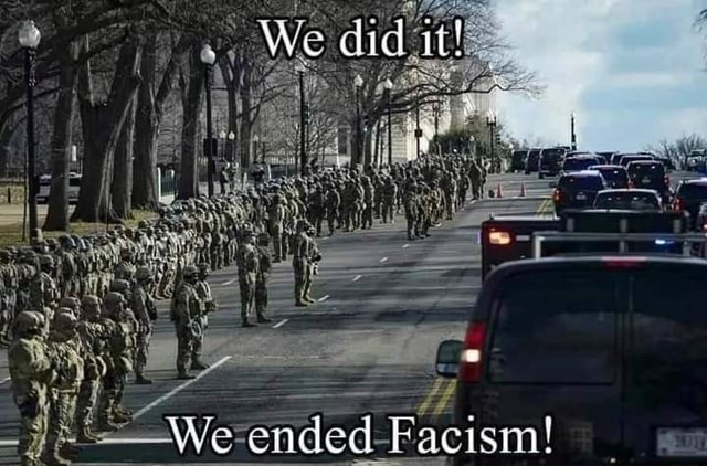 We did it We ended Facistm memes