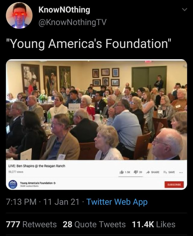 Young America's Foundation memes