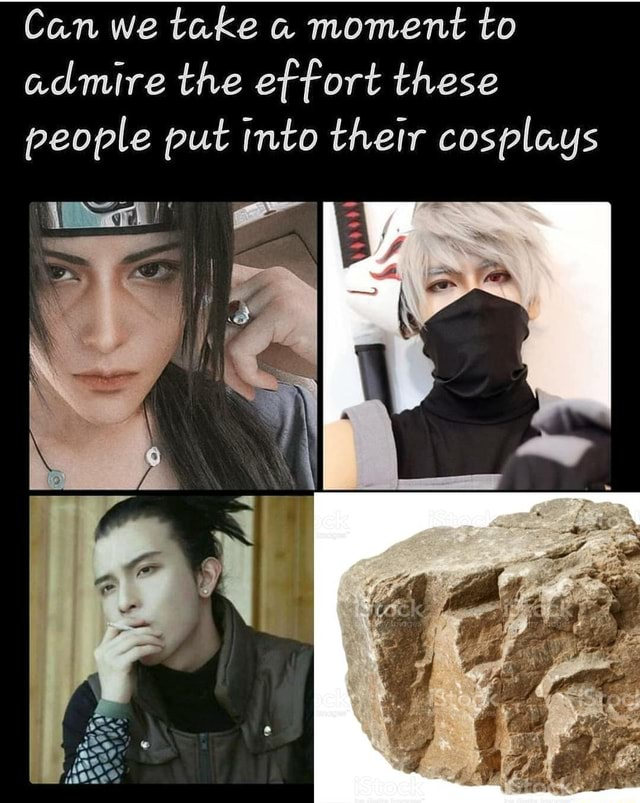 Can we take moment to admire the effort these people put into their cosplays memes