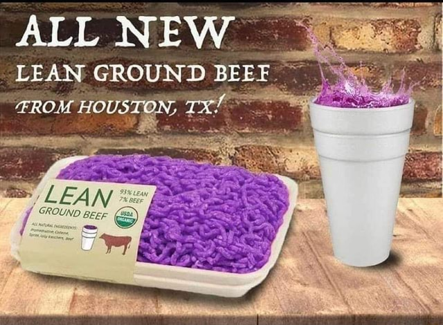ALL NEW LEAN GROUND BEEF ON. LEAN BEEF meme