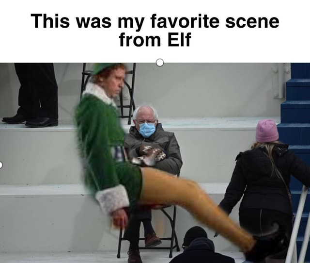 This was my favorite scene from Elf meme