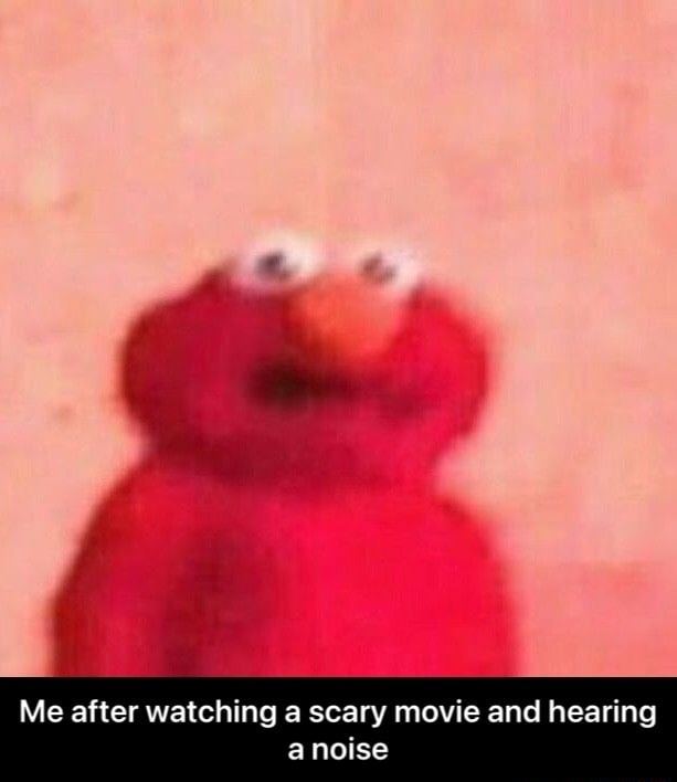 Me after watching a scary movie and hearing a noise Me after watching a scary movie and hearing a noise memes